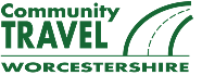 Community Travel Worcestershire logo - community transport for the county